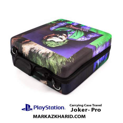 کیف ضدضربه پلی استیشن PlayStation 4 PRO Hard Case Travel Bag JOker