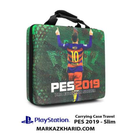 کیف ضدضربه PlayStation 4 Slim Hard Case Travel Bag PES 2019