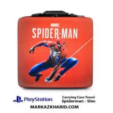 کیف ضدضربه پلی استیشن PlayStation 4 Slim Hard Case Travel Bag Spiderman