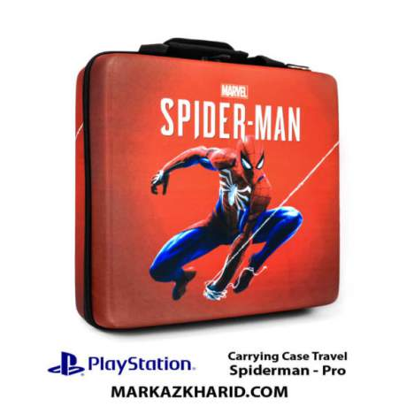 کیف ضدضربه پلی استیشن ۴ پرو PlayStation 4 PRO Hard Case Travel Bag Spiderman