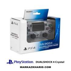 دسته بازی پلی استیشن Playstation 4 DualShock 4 Wireless Controller Crystal