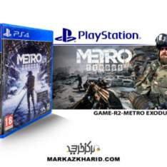 بازی پلی استیشن Playstation 4 GAME METRO EXODUS