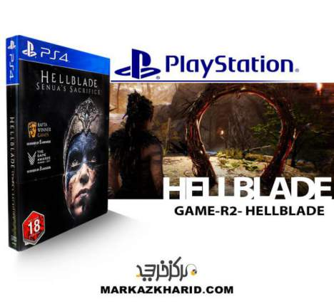 بازی پلی استیشن 4 Playstation 4 GAME R2 Hellblade Senua's Sacrifice