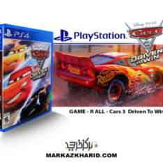 بازی پلی استیشن ۴ Playstation 4 Cars 3 Driven to Win