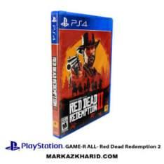 بازی پلی استیشن Playstation 4 GAME R ALL Red Dead Redemption 2