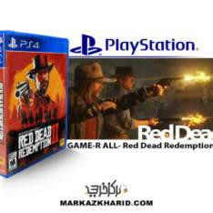 بازی پلی استیشن Playstation 4 GAME R ALL Red Dead Redemption 2