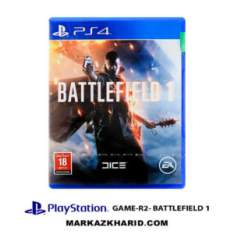 بازی پلی استیشن Playstation 4 GAME R2 BATTLEFIELD 1