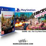 بازی پلی استیشن ۴ Playstation 4 Far Cry New Dawn