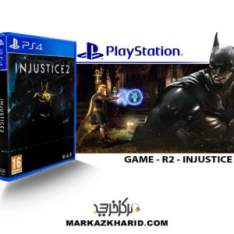 بازی پلی استیشن ۴ Playstation 4 Injustice 2