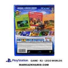 بازی پلی استیشن ۴ Playstation 4 Lego Worlds