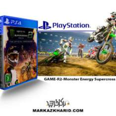 بازی پلی استیشن ۴ Playstation 4 Monster Energy Supercross 2