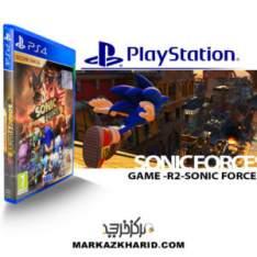 بازی پلی استیشن 4 سونیک Playstation 4 GAME R2 SONIC FORCES