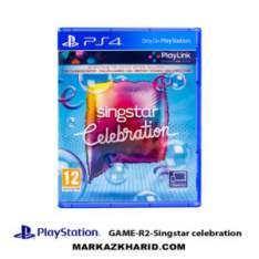 بازی پلی استیشن ۴ Playstation 4 Singstar Celebration
