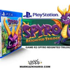بازی پلی استیشن Playstation 4 GAME SPYRO REIGNITED TRILOGY