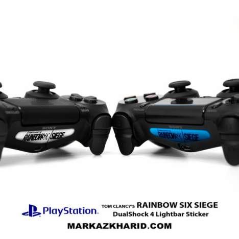 برچسب لایت بار Playstation Rainbow Six Siege DualShock 4 Lightbar Sticker