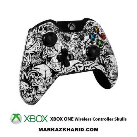 دسته ایکس باکس وان XBOX ONE Joystick Skulls