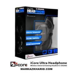 هدست گیمینگ Playstation 4 iCore Ultra Headphone Wireless Universal Gaming Headset iC-UH2000