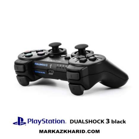 دسته بازی بی سیم پلی استیشن ۳ مشکی Playstation 3 DualShock 3 Wireless Controller Black