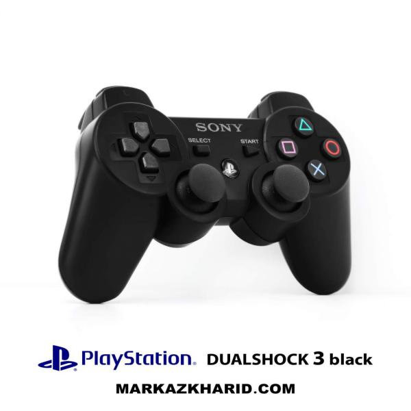 دسته بازی پلی استیشن 3 مشکی Playstation 3 DualShock 3 Wireless Controller Black