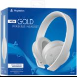 هدست PlayStation WIRELESS HEADSET White GOLD