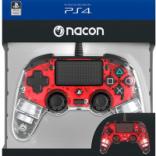 دسته بازی PlayStation Nacon Compact Controller Wired ILLuminated Red