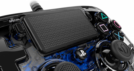 دسته بازی PlayStation Nacon Compact Controller Wired ILLuminated Blue