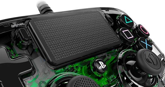 دسته بازی PlayStation Nacon Compact Controller Wired ILLuminated green