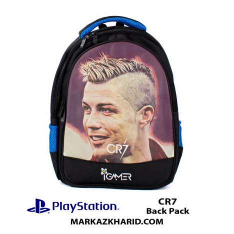کیف مسافرتی Playstation XBOX And laptop Hardcase Travel Bag IGamer CR7