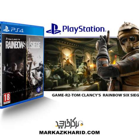 بازی PlayStation GAME R2 TOM CLANCY'S RAINBOW SIX SIEGE