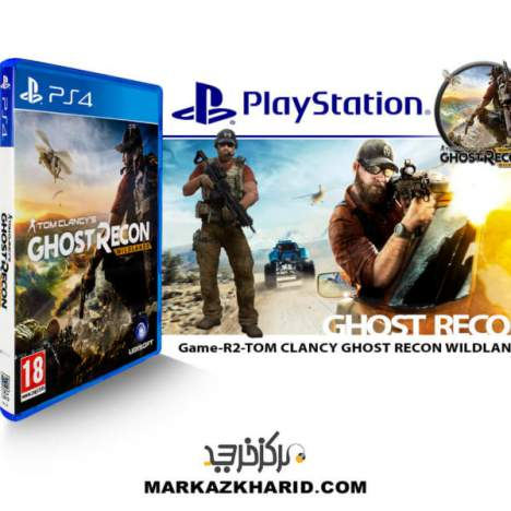بازی پلی استیشن 4 Playstation 4 Game R2 tom clancy ghost recon wildlands