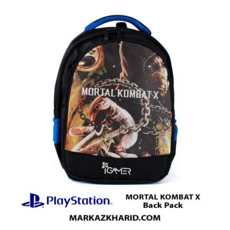 کیف مسافرتی Playstation XBOX And laptop Hardcase Travel Bag IGamer Mortal Kombat X