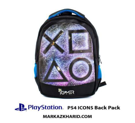 کیف مسافرتی Playstation XBOX And laptop Hardcase Travel Bag IGamer ICONS