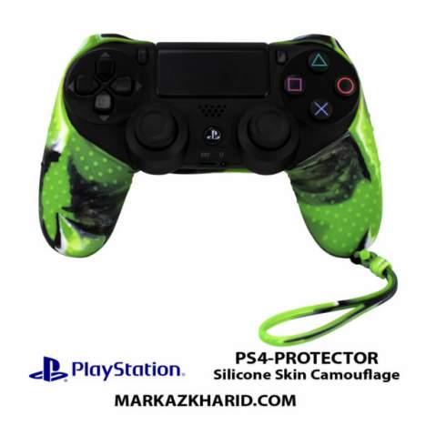 محافظ دسته PlayStation Controller PROTECTOR Silicone Skin Camouflage