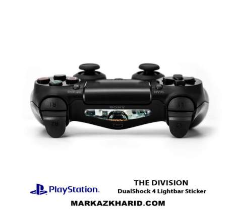 برچسب لایت بار Playstation DualShock 4 The Division LightBar Sticker