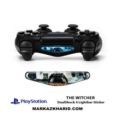 برچسب لایت بار Playstation DualShock 4 The Witcher LightBar Sticker