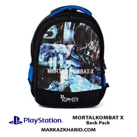 کیف مسافرتی Playstation XBOX And laptop Hardcase Travel Bag IGamer Mortalkombat