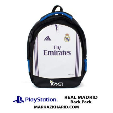 کیف مسافرتی Playstation XBOX And laptop Hardcase Travel Bag IGamer Real Madrid