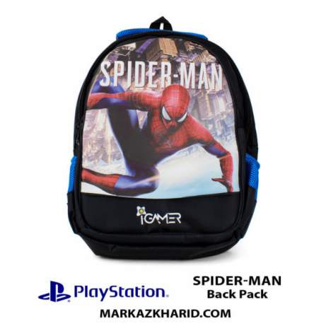 کیف مسافرتی Playstation XBOX And laptop Hardcase Travel Bag IGamer Spider Man