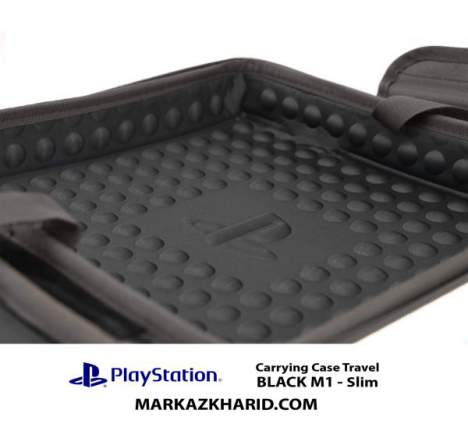 کیف ضدضربه PlayStation 4 Slim Hard Case Travel Bag BLACK M1