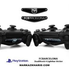 برچسب لایت بار Playstation DualShock 4 fc barcelona LightBar Sticker