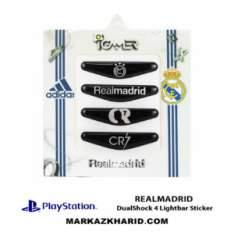 برچسب لایت بار Playstation DualShock 4 realmadrid LightBar Sticker