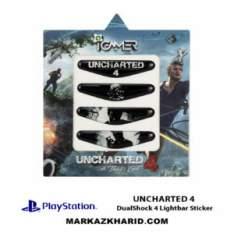 برچسب لایت بار Playstation DualShock 4 uncharted 4 LightBar Sticker