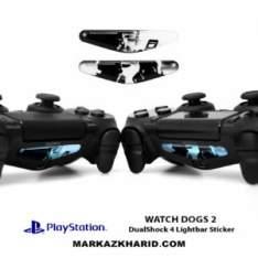 برچسب لایت بار Playstation DualShock 4 watch dogs LightBar Sticker