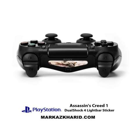 برچسب لایت بار Playstation DualShock 4 Assassin's Creed LightBar Sticker