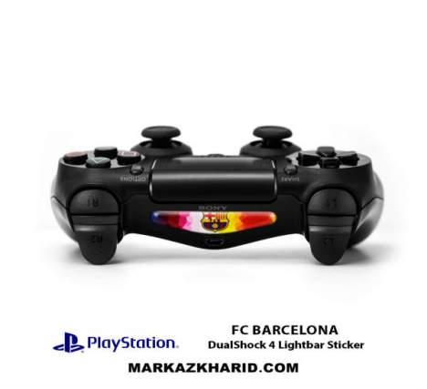 برچسب لایت بار Playstation DualShock 4 Barcelona LightBar Sticker