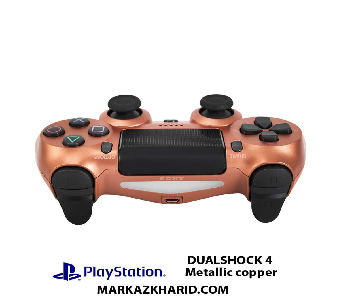 دسته بازی PlayStation DUALSHOCK 4 Wireless Controller copper