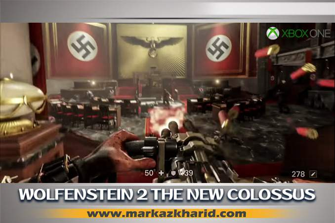 جزئیات انتشار بازی Wolfenstein II The New Colossus Xbox One کمپانی MachineGames