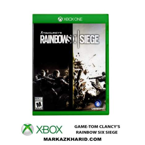 بازی XBOX ONE GAME TOM CLANCY'S RAINBOW SIX SIEGE