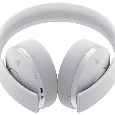 هدست PlayStation WIRELESS HEADSET White GOLD