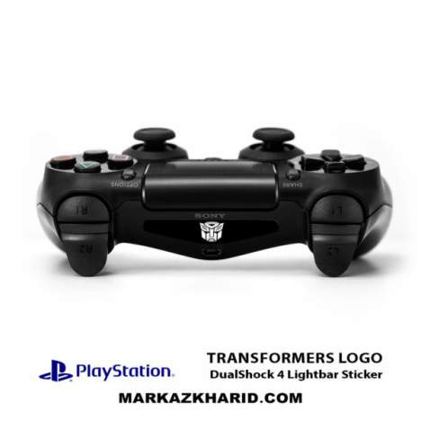 برچسب لایت بار PlayStation Transformers Logo DualShock 4 Lightbar Sticker